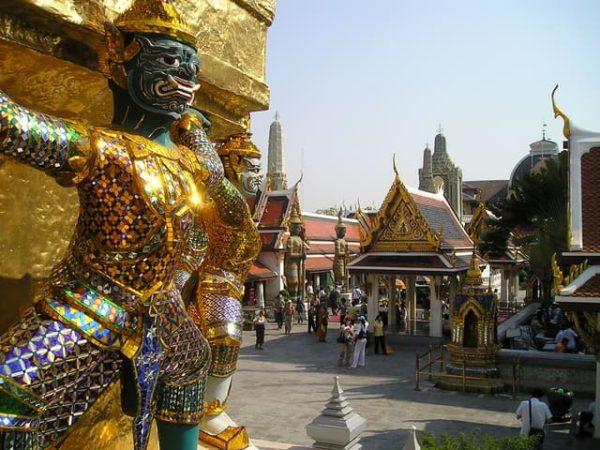 タイ旅行 お寺