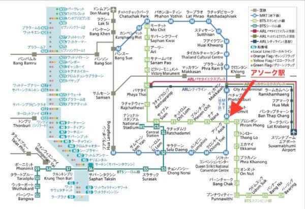 BTS 路線マップ